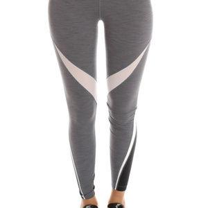 Nike Gray Twist Tights Leggings sz L